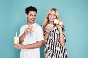 Macca's x Emma Mulholland All Day Brekkiewear - Models Pete Dickson & Michaela Thompsen_1